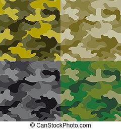 Seamless military pattern
