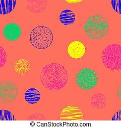 seamless, modèle, fond, géométrique, couleur, c, vector.