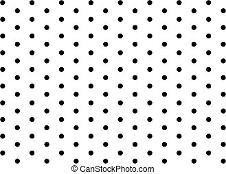 seamless, modèle, points polka, grand