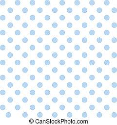 seamless, modèle, points polka, pastel