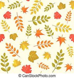 seamless, model, do, podzim, námět, jako, díkůvzdání