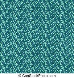 seamless, modello acqua, superficie, vettore, blu