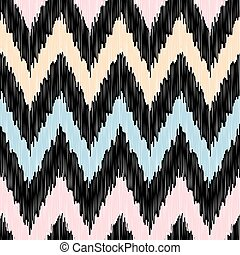 Seamless modern zigzag background pattern