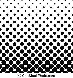 Seamless monochromatic circle pattern design - Seamless ...