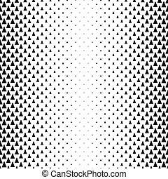 Seamless monochrome abstract triangle pattern