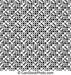 Seamless Monochrome Ornament