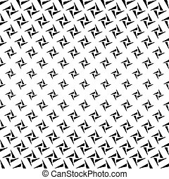 Seamless monochrome rectangles from triangles pattern