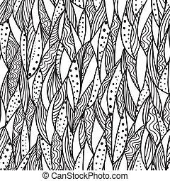 seamless, monocromático, padrão