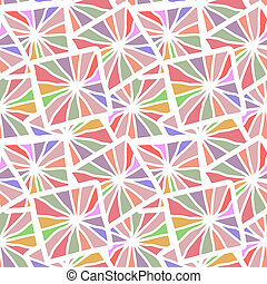 Seamless mosaic color texture