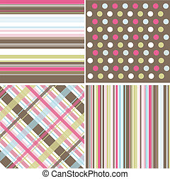 seamless, motifs, tissu, texture