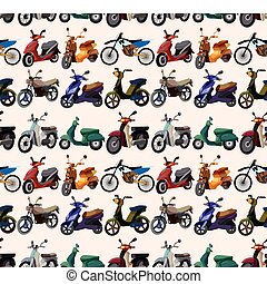 seamless motorcycles pattern - seamless motorcycles pattern...