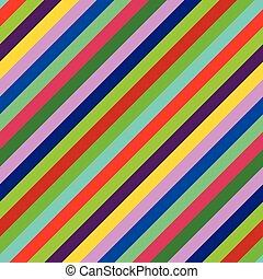 seamless, multi-colored, diagonale, fondo, zebrato