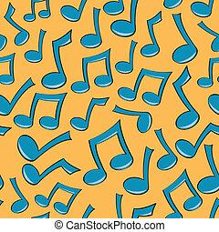 Seamless Music Note Pattern