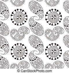 gewebe elemente muster henna seamless hand decke vektor clipart suchen sie. Black Bedroom Furniture Sets. Home Design Ideas