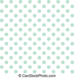 seamless, muster, polka- punkte, pastell