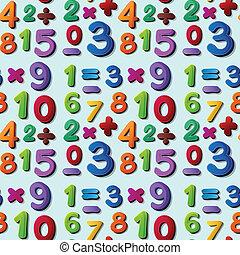 seamless, números