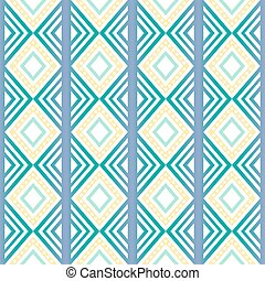 seamless native abstract pattern , retro style