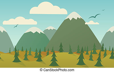 Seamless Nature Background