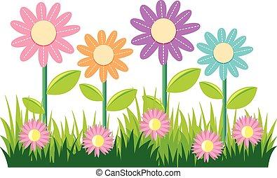 Flores Desenho Capim Arte Abstratos Ilustracao Capim Desenho