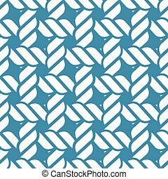 Seamless nautical rope pattern