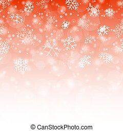seamless, neige émiette, fond