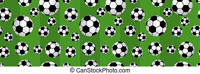 seamless of soccer balls