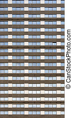 Seamless office block - A generic office block facade that...