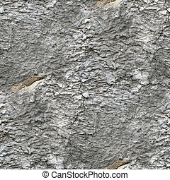 seamless old gray  texture stone wall with crack background