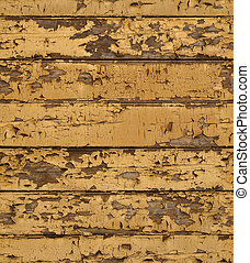 seamless old shabby wooden planks with cracked color paint background