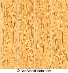 Seamless Old Wooden Planks. Vector Wood Pattern