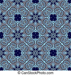 Seamless openwork pattern in the form of snowflakes or lace ...
