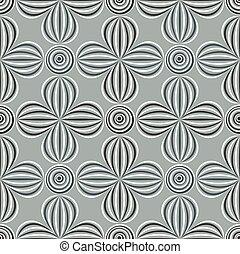 Seamless optical illusion pattern