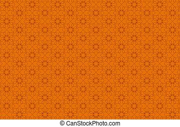 Seamless Orange Background