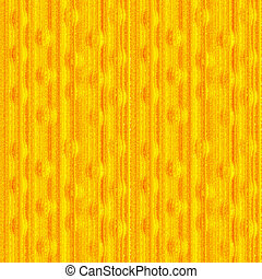 Seamless orange background, stripes and bubbles