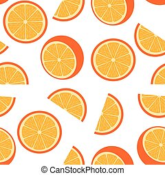 Seamless Orange Background