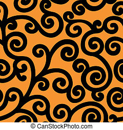 orange background - seamless orange background with a wide...