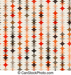 seamless orange pattern background