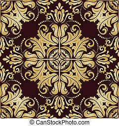 Seamless Orient Vector Background