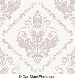 Seamless Orient Vector Background - Oriental vector fine...