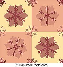 Seamless Oriental Flower Background Pattern