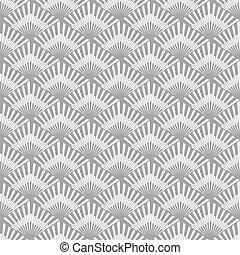 Seamless original pattern on a gray background.