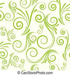 Seamless ornament from swirls - Swirls seamless ornament in...