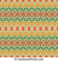seamless ornament in ethnic style.