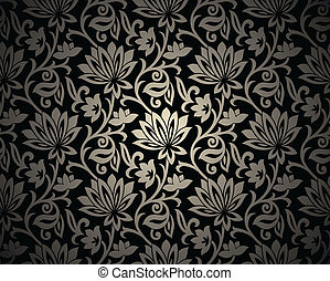 Seamless ornamental background