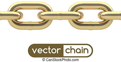 Seamless oval link chain