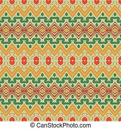 seamless, ozdoba, style., etniczny