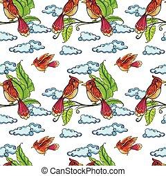seamless, pássaros
