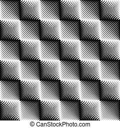seamless, padrão, zag zig