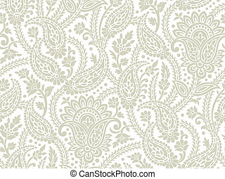 Seamless paisley background