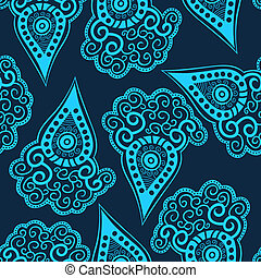 Seamless paisley texture for your design.